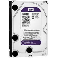 5TB WD Purple 5400 RPM 64MB Cache SATA 6.0Gb/s 3.5inch Internal Surveillance Hard Drive