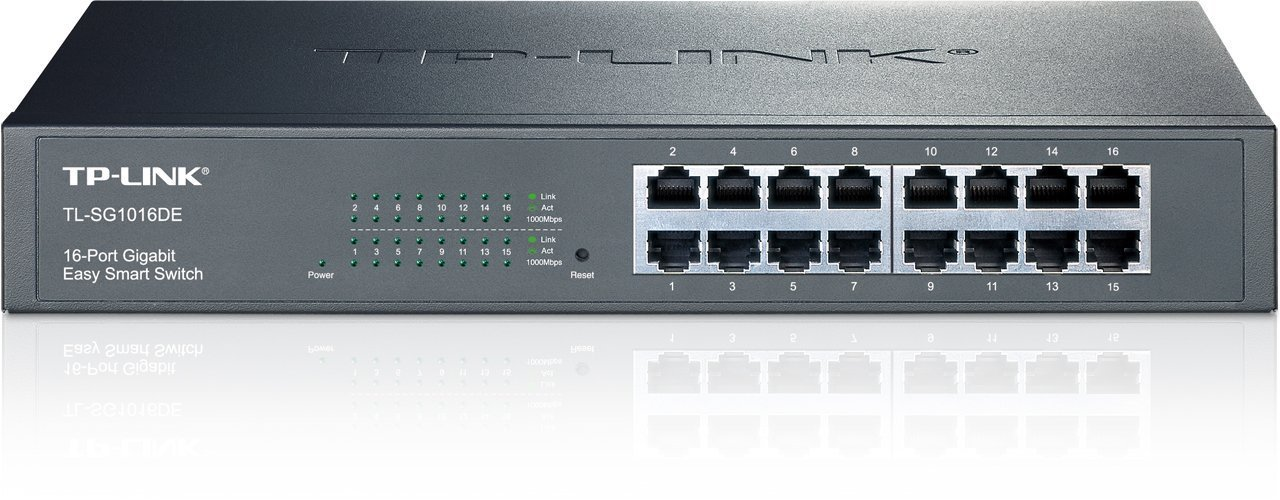 16-Port Gigabit Easy Smart Switch TP-LINK TL-SG1016DE