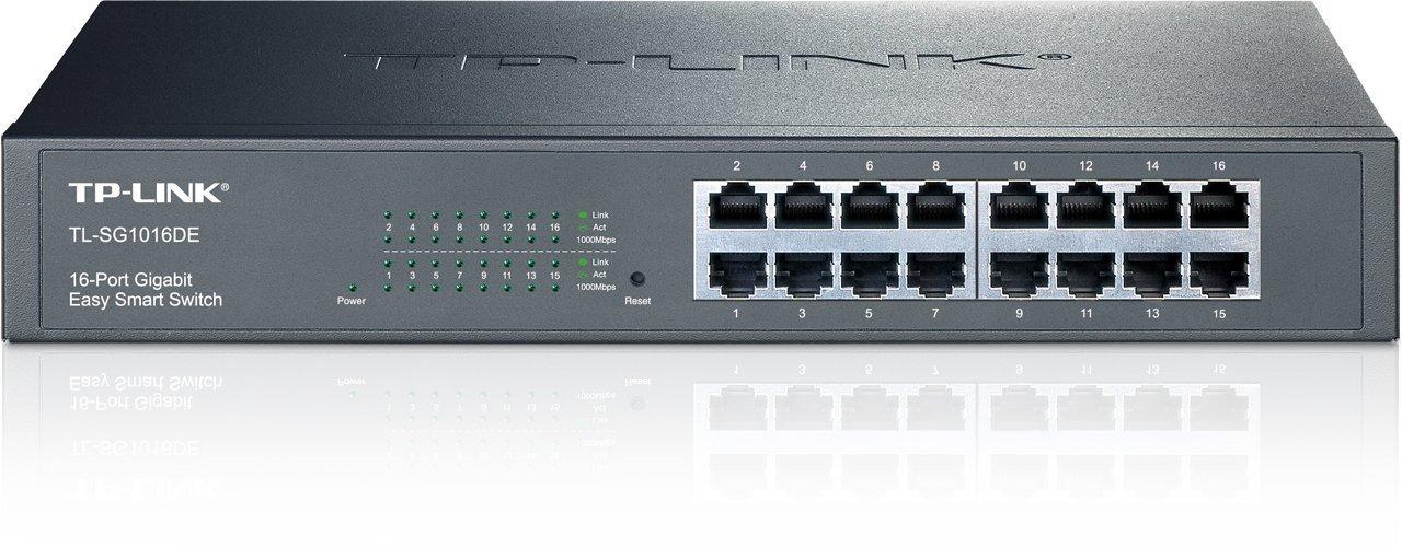 Thiết Bị Mạng Switch TP-Link 16 Port Gigabit Easy Smart TL-SG1016DE