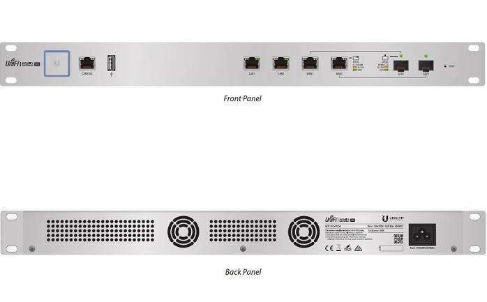 Thiết bị định tuyến UniFi Security Gateway Pro