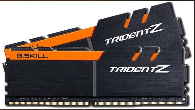 Ram G.Skill TRIDENT Z - 32GB (16GBx2) DDR4 3200GHz-F4-3200C16D-32GTZKO