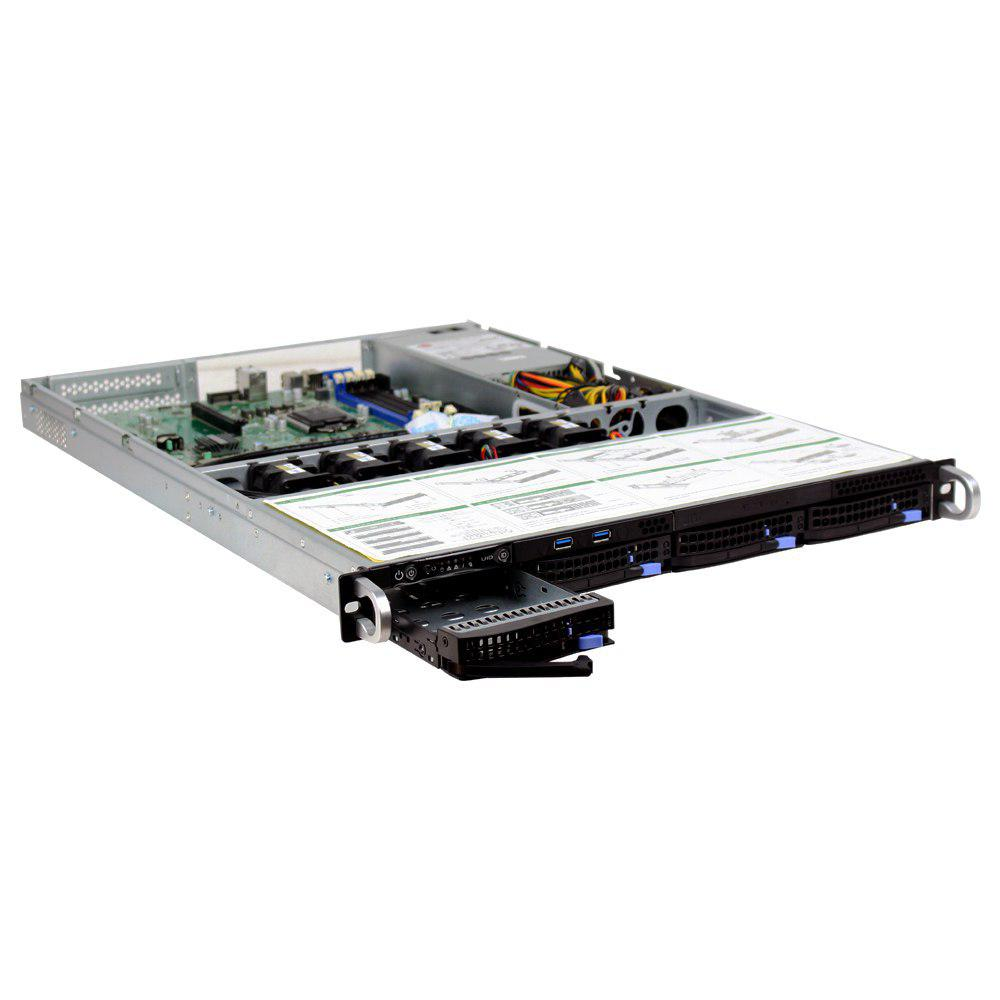 Chassis SSNR104H - 1x400W Power Supply 6Gb/s