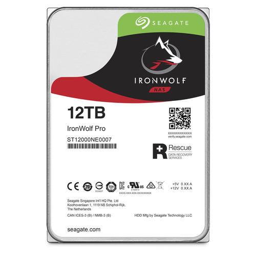12TB Seagate IronWolf Pro ST12000NE0007 SATA III 3.5