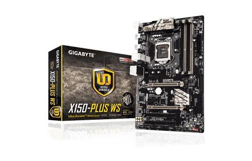 Mainboard Gigabyte GA-X150-PLUS WS (Chipset C232)