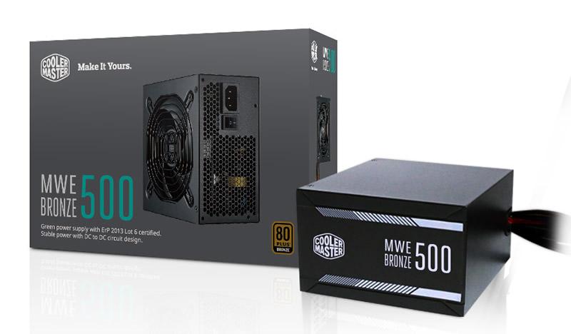 Nguồn Cooler Master MWE Bronze 500