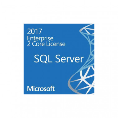 SQLSvrEntCore 2017 SNGL OLP 2Lic NL CoreLic Qlfd