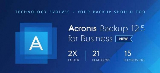 Acronis Backup 12.5 Advanced Workstation License incl. AAP ESD - PCAYLPZZS41