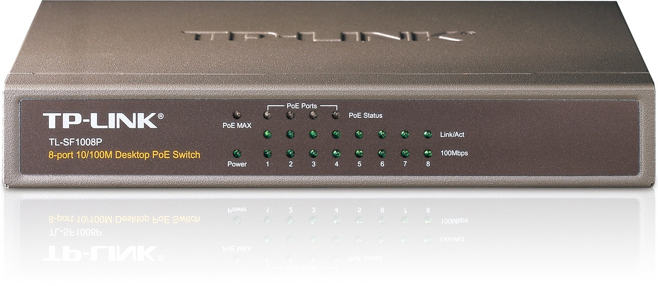 Switch TP-Link TL-SF1008P 8 port