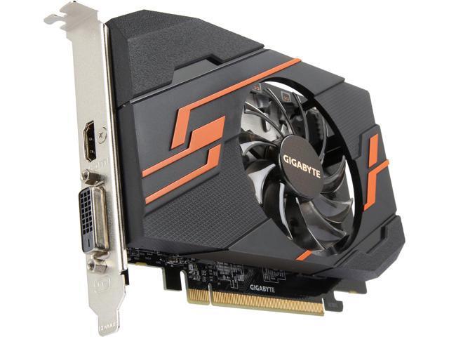 Card màn hình / VGA GIGABYTE GeForce GT 1030 2GB GDDR5 OC (GV-N1030OC-2GI)
