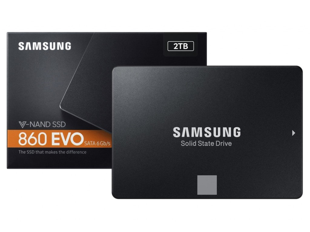 Ổ Cứng SSD Samsung 860 EVO 2TB 2.5