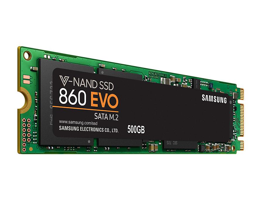 Ổ Cứng SSD Samsung 860 EVO 500GB M.2 SATA