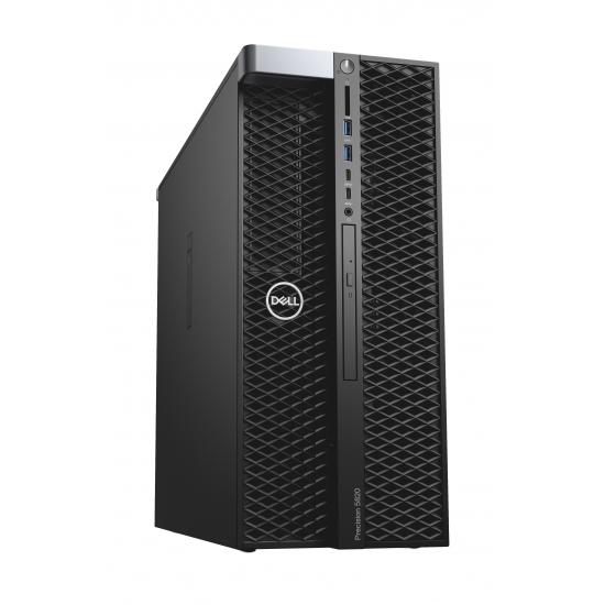 Dell Precision 5820 Mini Tower (70154200) Xeon W-2104 (3.20 GHz, 8.25 MB) - 2x8G Ram - 1TB HDD + 256G SSD - 2GB Quadro P600 - DVDRW - Win 10 Pro - 3Yrs warranty