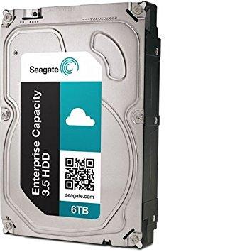 6TB Seagate Enterprise Capacity 3.5inch 7200 RPM 512e SATA 6Gb/s 256MB Cache Internal Hard Drive - NK
