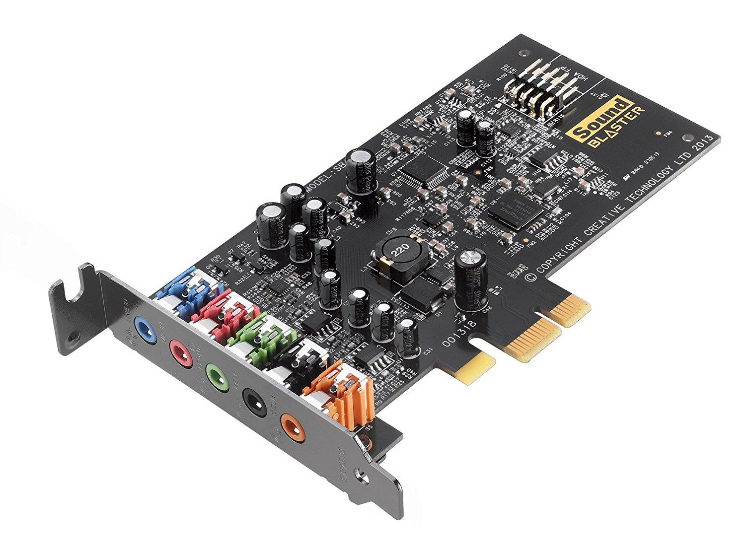 Sound Card Audiotrak Blaster Audigy FX (5.1PCIe)