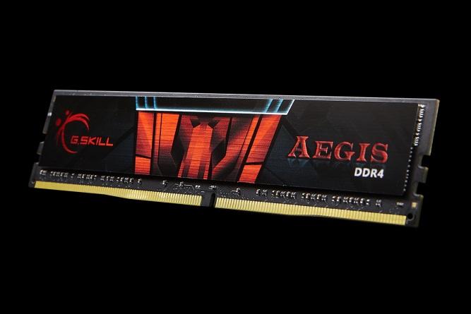 RAM G.SKILL 1x8GB Aegis DDR4 2666MHz - F4-2666C19S-8GIS