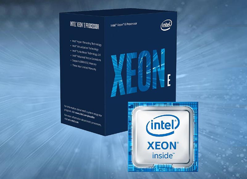 Intel® Xeon® E-2176G Processor 8M Cache, up to 4.30 GHz TM-R240-HP