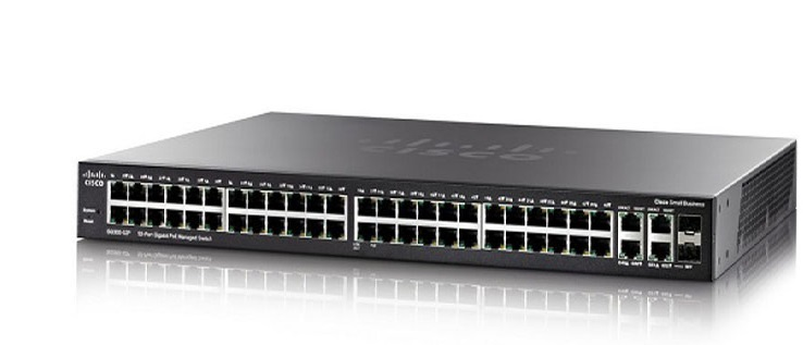 Switch CISCO SG350-52P-K9-EU 52-Port Gigabit PoE Managed Switch