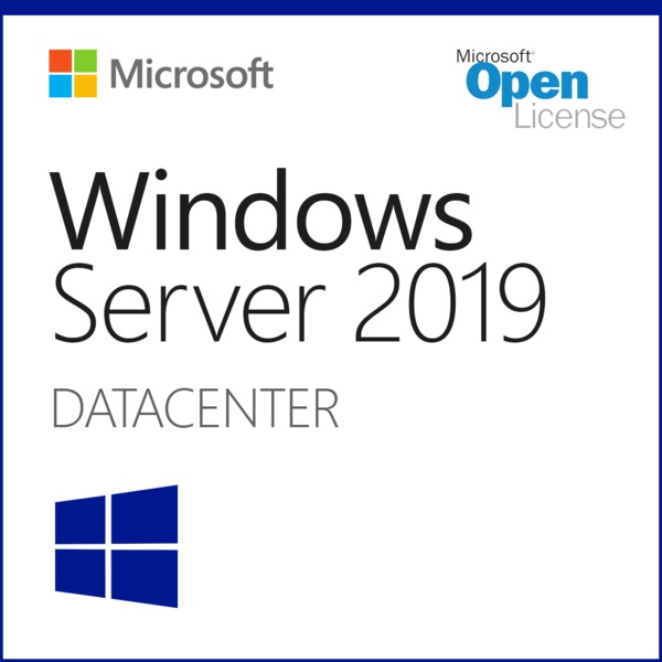 Phần mềm Microsoft Windows Server Datacenter Core 2019 SNGL OLP 16Lic NL CoreLic Qlfd