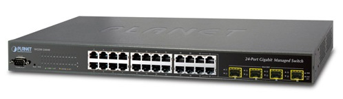 24-port Gigabit Switch PLANET WGSW-24040