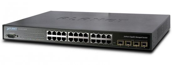 24-port Gigabit Switch PLANET WGSW-24040R