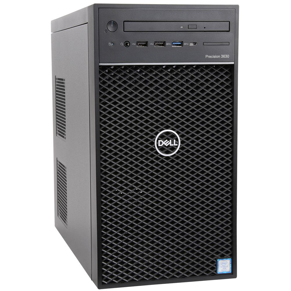 DELL Tower 3630  70190803  Xeon E-2124G (3.40 GHz,8MB ) - 2x8G Rarm - 1TB HDD - 4GB Quadro P1000 - DVDRW - 3Yrs Warranty