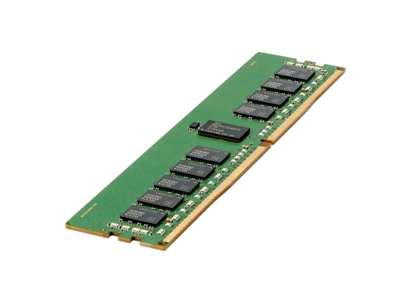 HPE 8GB (1 x 8GB) single rank x8 Dual Data Rate (DDR4)-2666 CAS-19-19-19 unbuffered standard memory kit