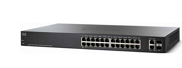Switch Cisco SF220-24-K9 24-Port 10/100 Smart Switch