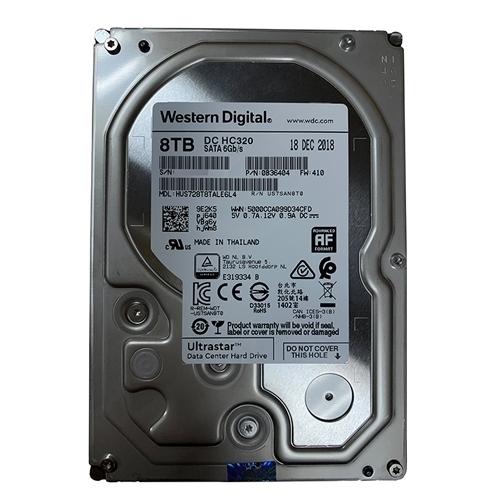 Ổ cứng ENTERPRISE WD ULTRASTAR DC HC320 8TB 3.5, 256MB Cache, 7200RPM, SATA