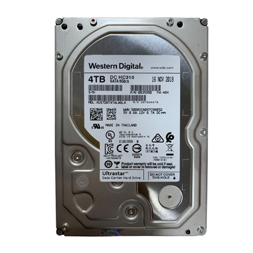 Ổ cứng ENTERPRISE WD ULTRASTAR DC HC310 4TB 3.5, 256MB Cache, 7200RPM, SATA