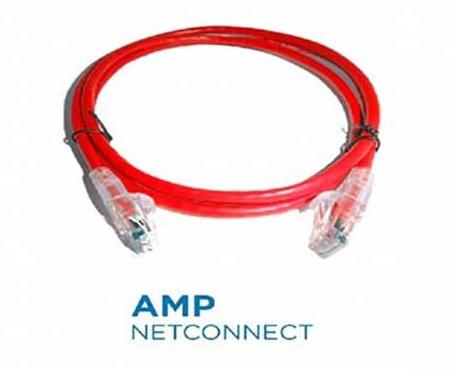 Cáp đấu nối AMP Cat6 5FT Red (NPC06UVDB-RD005F)