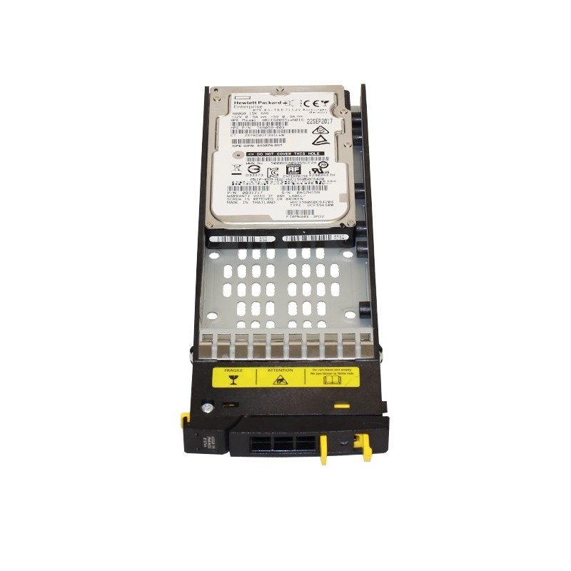 HPE 3PAR StoreServ 8000 600GB SAS 15K SFF (2.5-inch) HDD with all-inclusive single-system software
