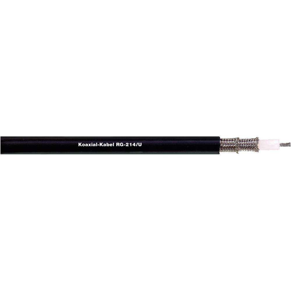Dây cáp RG213 mã CABLE RG 213U Black Coaxial Cable 50 Ohm 10.3mm