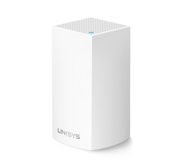 Linksys Velop Intelligent Mesh WiFi System, Dual-Band, 1-Pack (AC1300) WHW0101