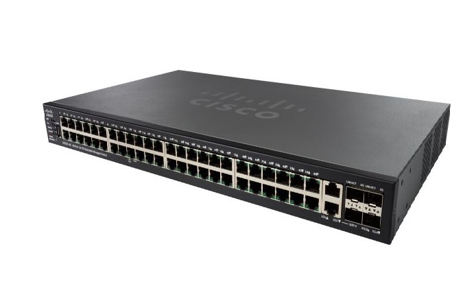 48-Port 10/100 Stackable Managed Switch CISCO SF550X-48-K9-EU