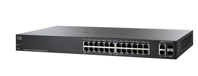 Thiết Bị Mạng Switch Cisco 26 Port Gigabit Smart SG250-26-K9