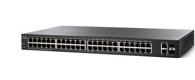 50-Port Gigabit PoE Smart Switch CISCO SG220-50P