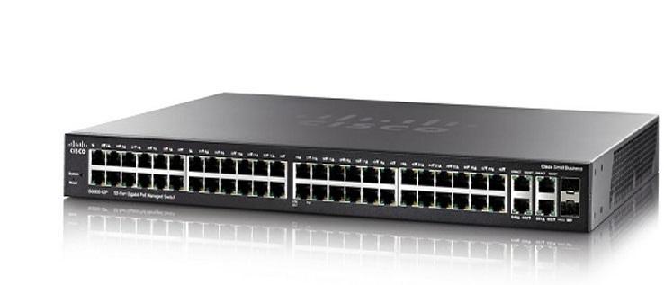 52-Port Gigabit Max-PoE Managed Switch CISCO SG350-52MP-K9