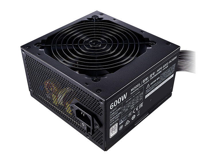 Nguồn Cooler Master MWE 600 White V2 - 600W