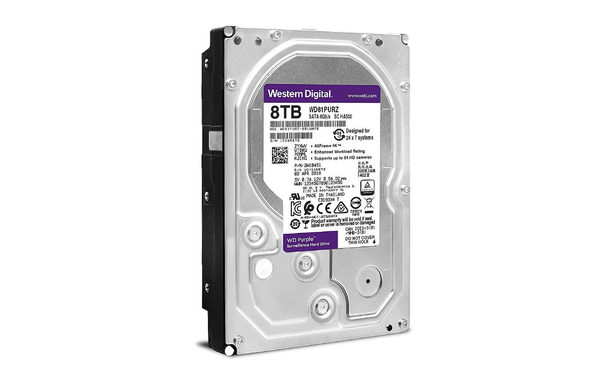 Ổ cứng HDD Western Digital Purple 8TB 3.5