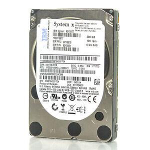 IBM 300GB 10K 66 BPS SAS 2.5 INCHES SFF SLIM PIN 90Y8878
