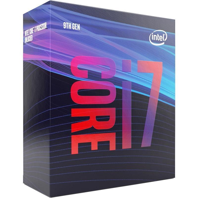 Intel® CoreTM i7-9700 Processor 12M, up to 4.70 GHz