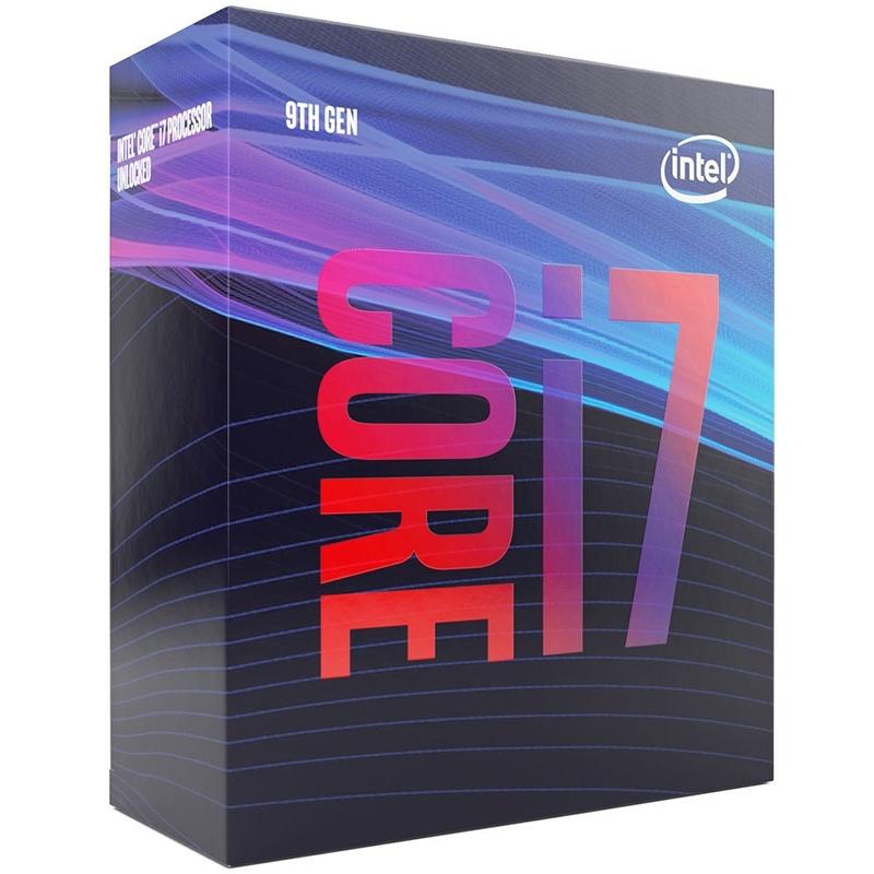 CPU Intel Core i7-9700 (3.0GHz turbo up to 4.7Ghz, 8 nhân 8 luồng, 12MB Cache, 65W) - LGA 1151