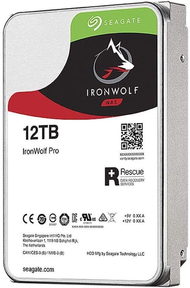 Ổ Cứng HDD Seagate 12TB IronWolf Pro 3.5