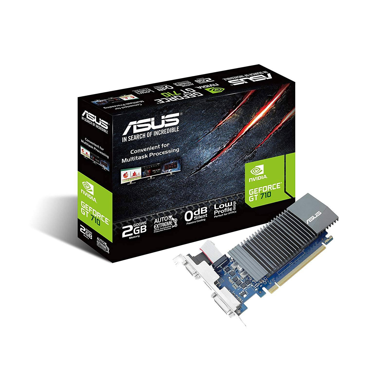 ASUS GT710-SL-2GD5-BRK GeForce GT 710 2 GB DDR5