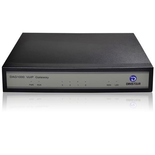 Analog VoIP Gateway Dinstar DAG1000-8O