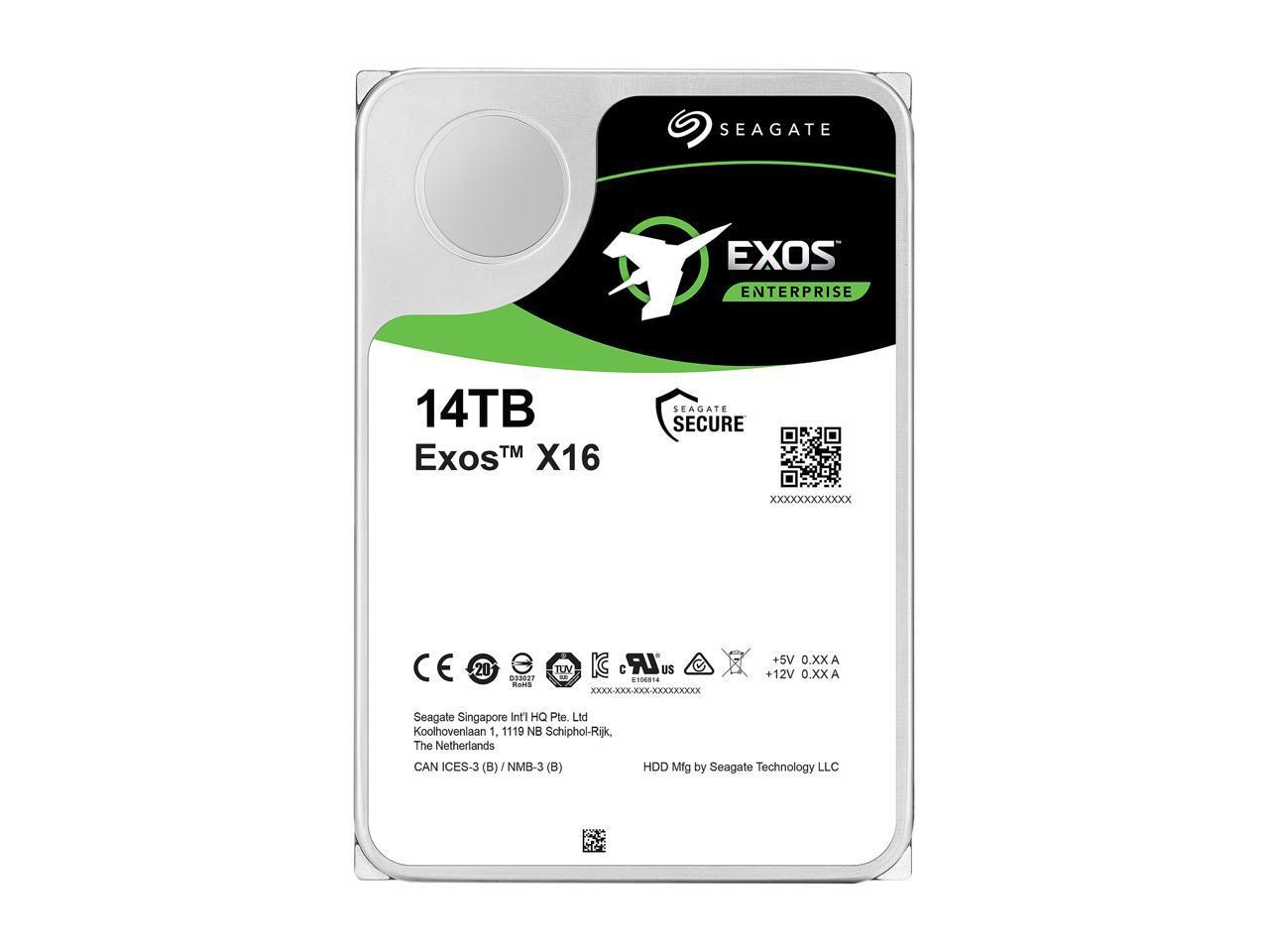 Ổ Cứng HDD Seagate Exos X16 14TB 3.5