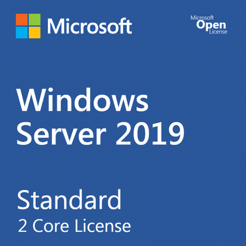 Phần Mềm Bản Quyền Microsoft Windows Server Standard WinSvrSTDCore 2019 SNGL OLP 2Lic NL CoreLic (9EM-00653)