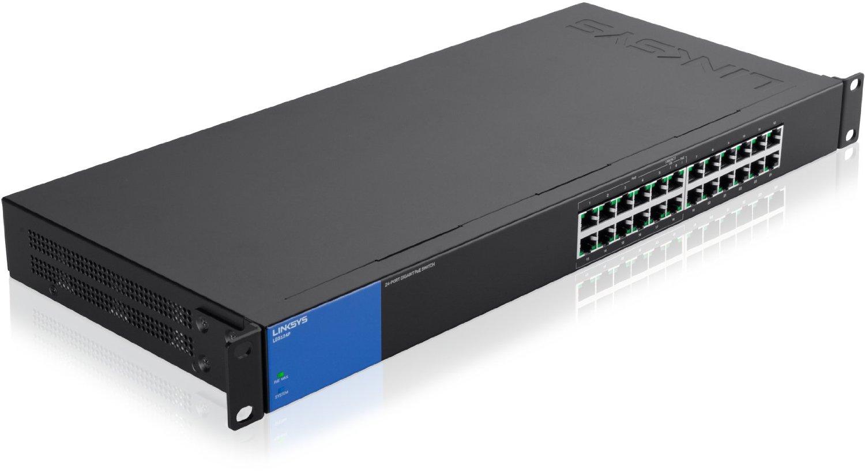 Thiết Bị Mạng Switch Linksys 24 Port Business Gigabit PoE+ LGS124P