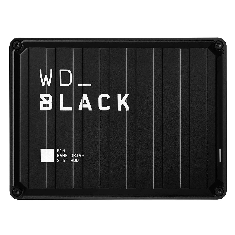 Ổ Cứng Di Động HDD Western Digital 2TB Black P10 Game Drive