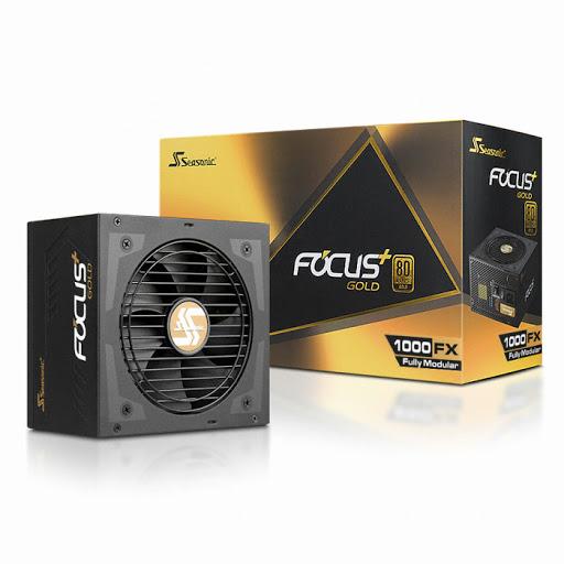 Nguồn Power Seasonic 1000w Focus Plus FX-1000 80 PLUS® Gold